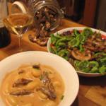 Gnocchis crémeux aux morilles et à l'ail (version décadente)