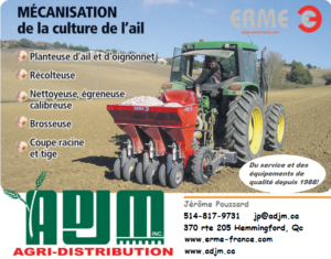 Logo commandite 500$ - ADJM Agri-Distribution inc.