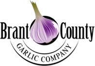 logo Brant County Garlic